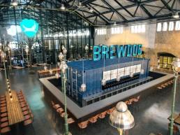 Immobilienprojekt Marienpark Berlin: Innenaufnahme der Brauerei Brewdog